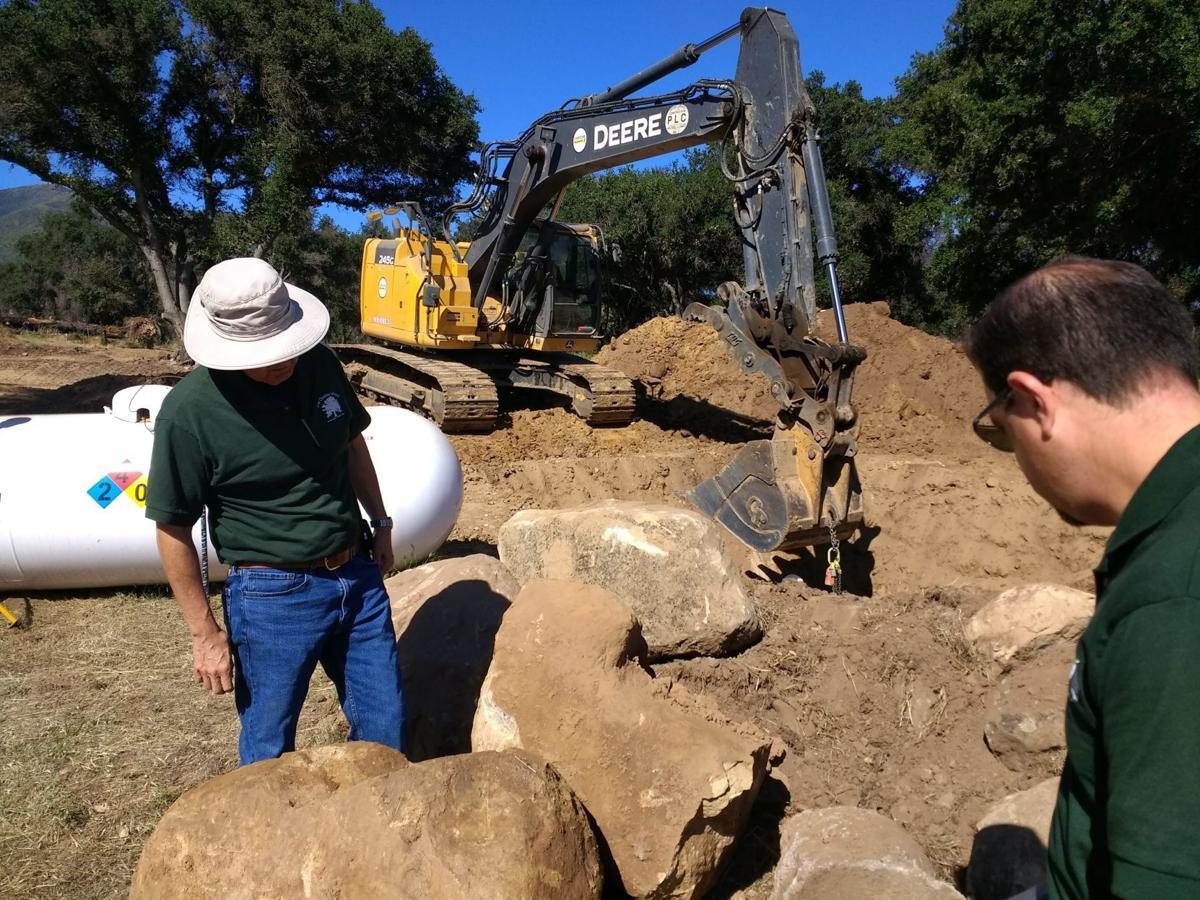 Sewer construction begins at Rancho Alegre