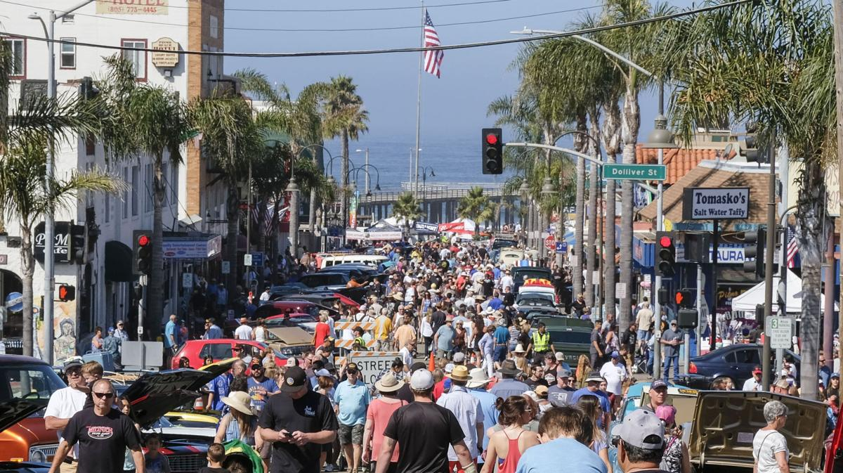 GALLERY Crowds Flock To Pismo Beach For Annual Mothers Polish - Classic car show pismo beach