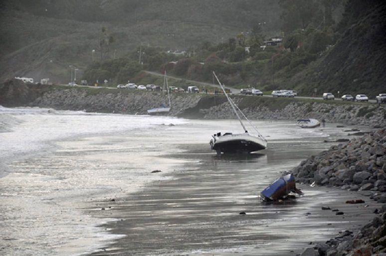 Boats on Olde Port Beach