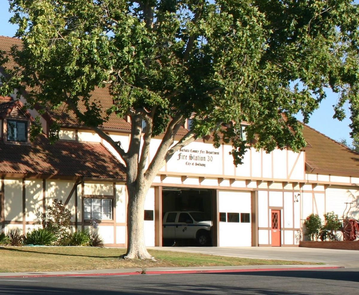 Santa Barbara County Fire Department Station 30 in Solvang