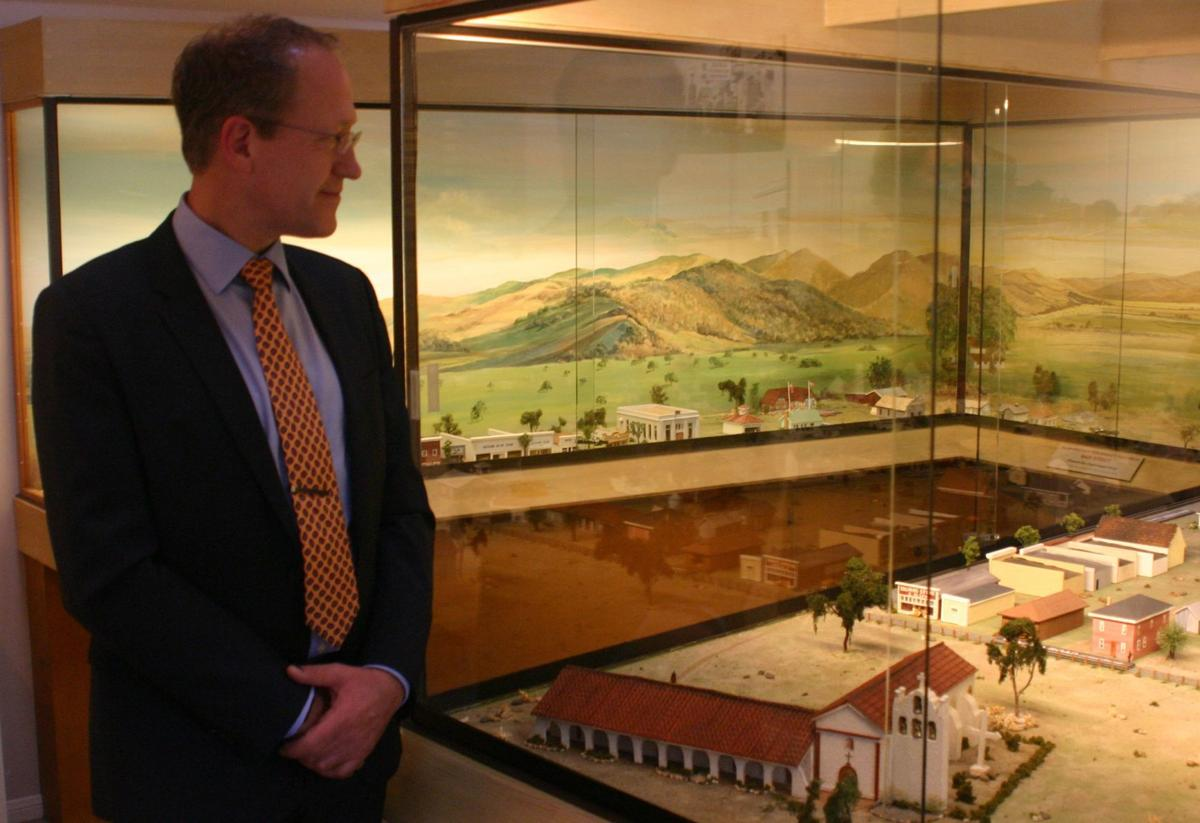 Danish ambassador Henrik Bramsen Hahn