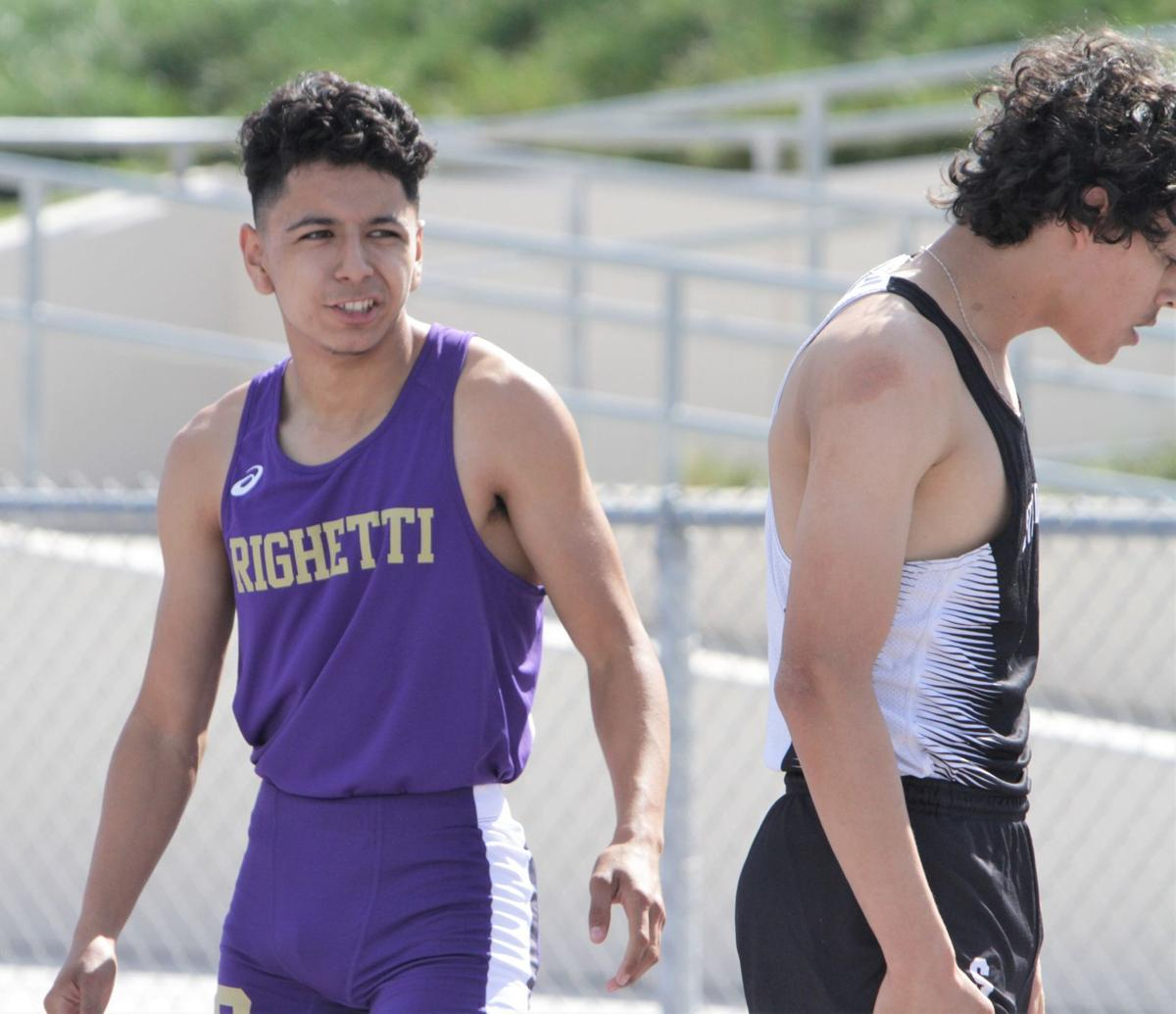 Photos: Righetti and Stockdale battle in track dual
