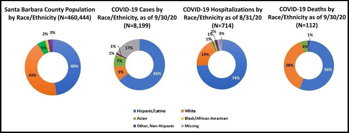 Ethnicities for covid-19