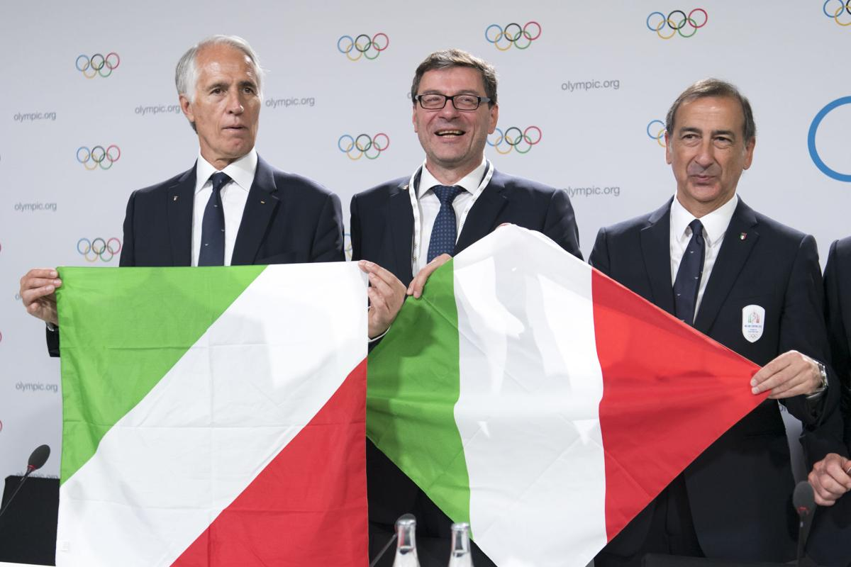 Italy wins 2026 Olympics host vote