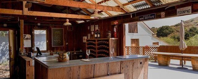 The Shack, Foxen Vineyards original tasting room on Foxen Canyon