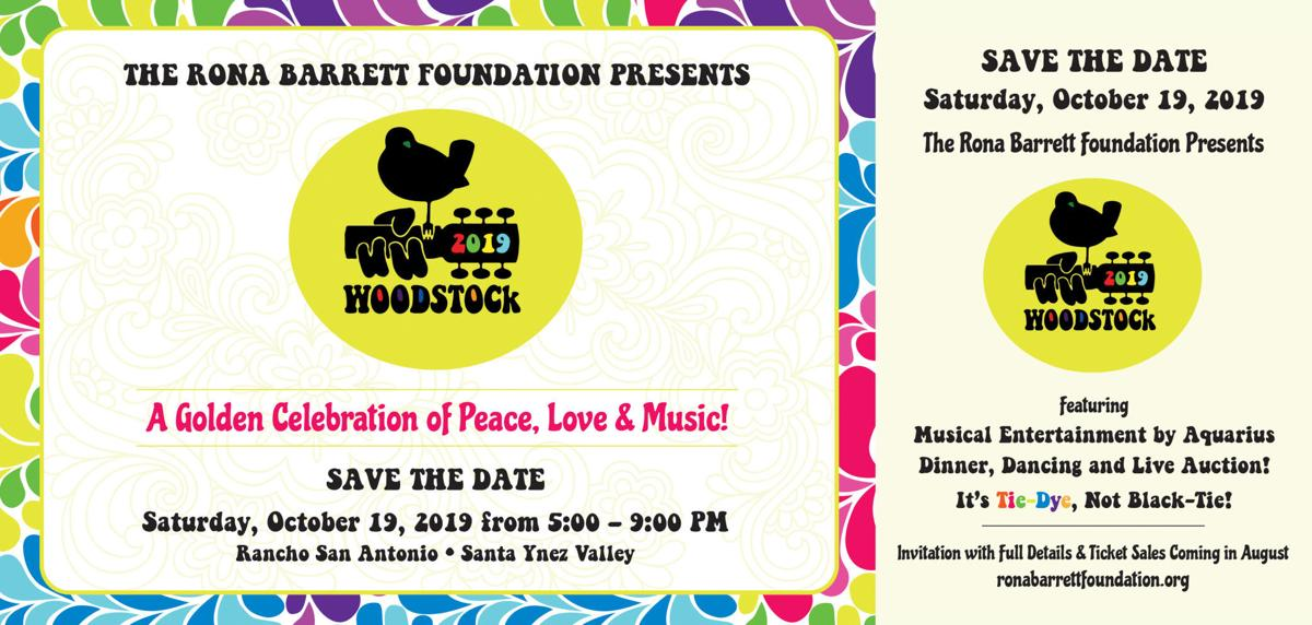 Rona Barrett Foundation Woodstock event
