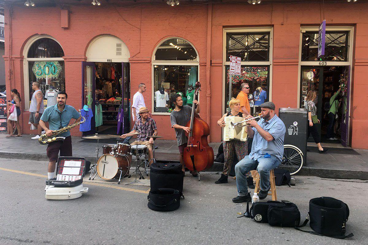 New Orleans band