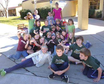 Los Olivos students show  their love for 'Happy Endings'
