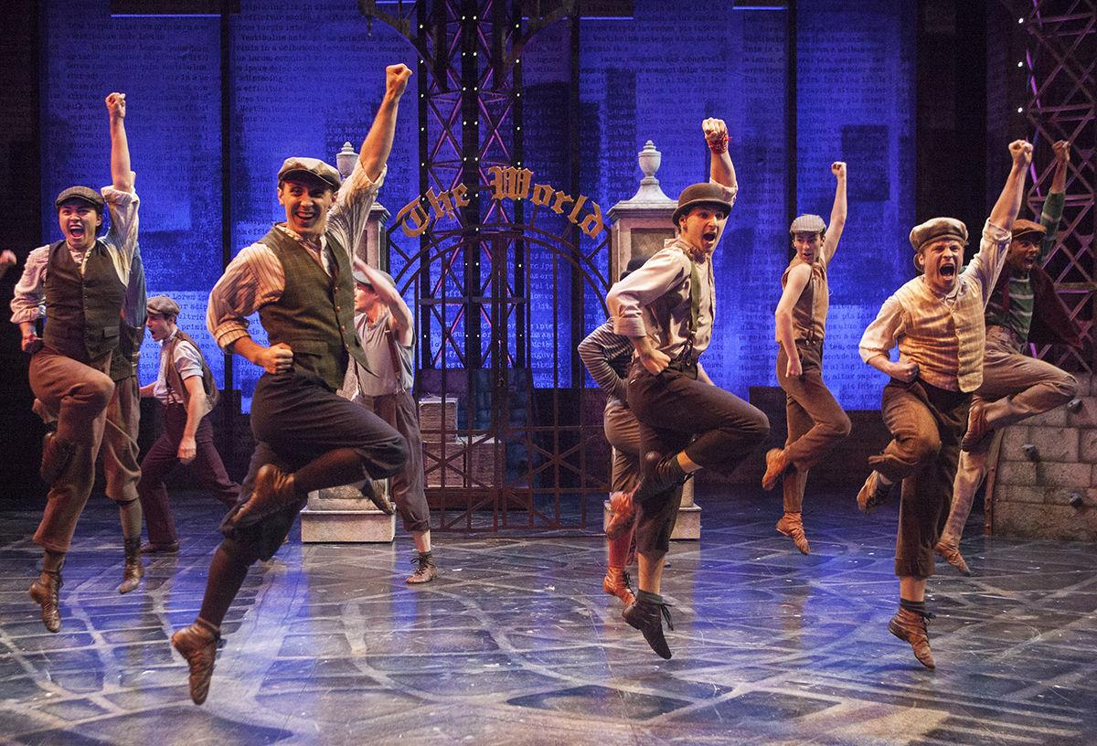 Review: A talented cast strikes in PCPA's production of 'Newsies The Musical' -- 1