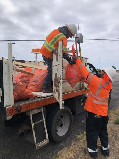 042621 Caltrans clean up effort