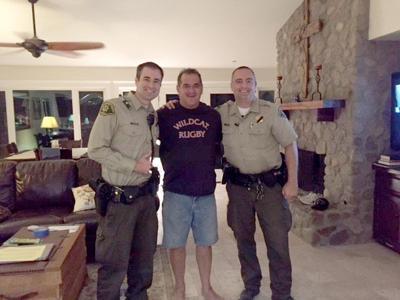 Filippin with deputies