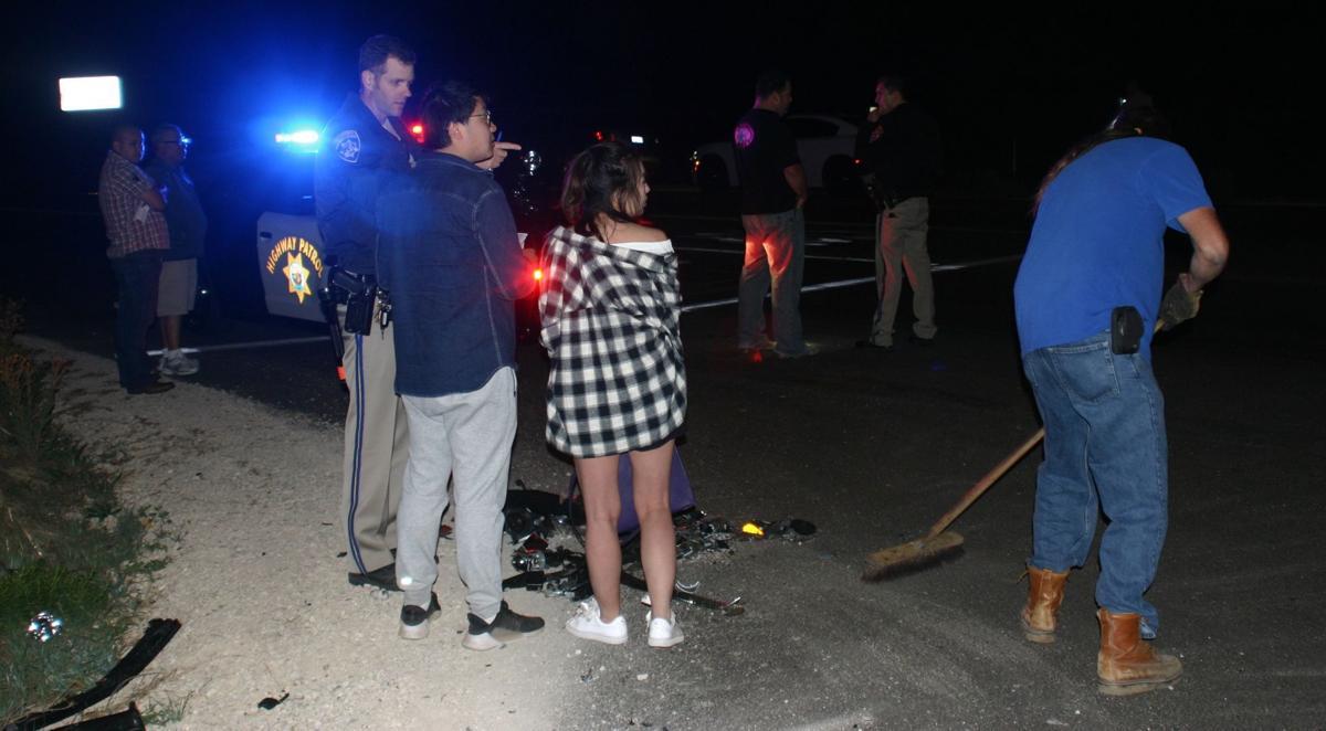 Crash on Hwy 154 at Edison Street