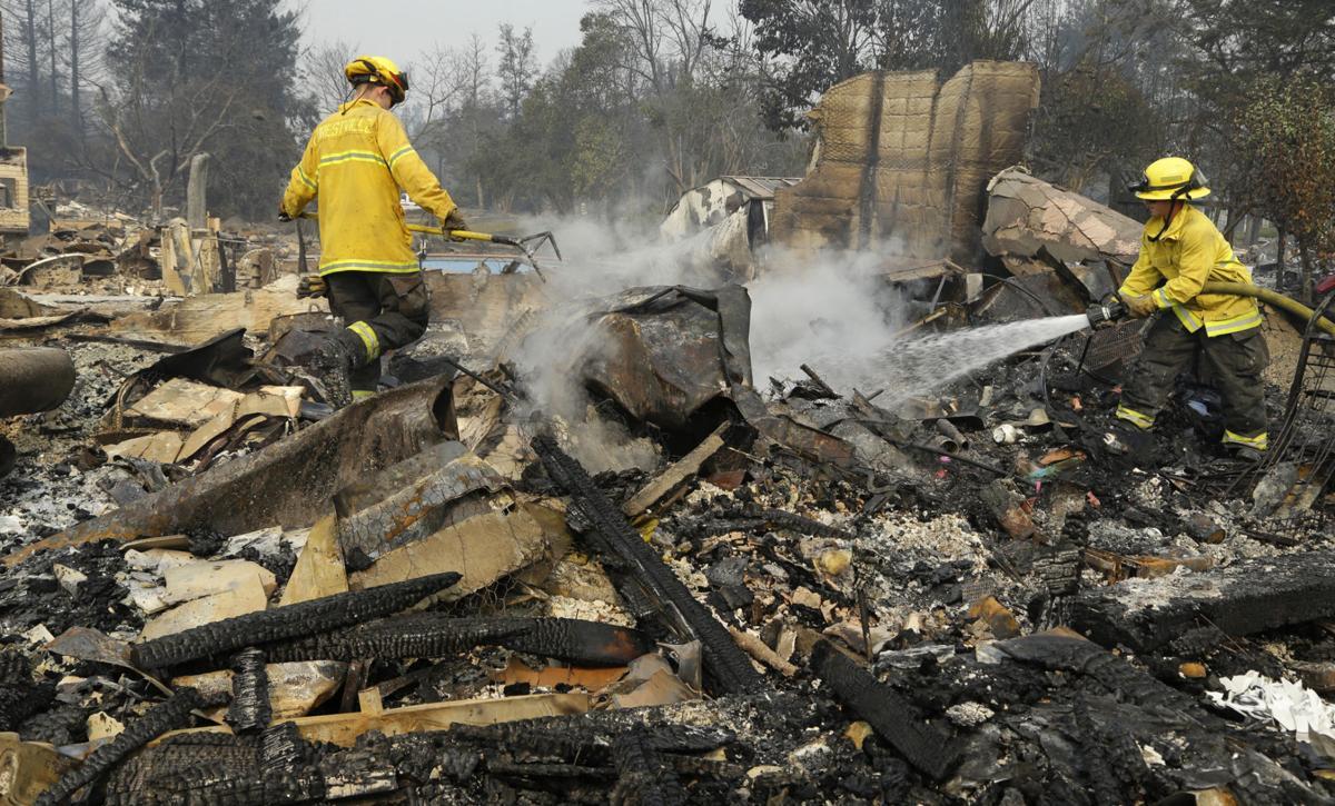 Northern California Wildfire 01