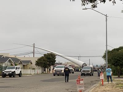 092421 Wind Turbine Arrives 3
