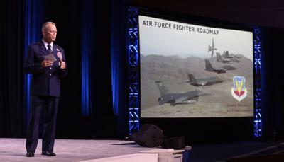 Air Combat Commander speaks at AFA on the Fighter Roadmap