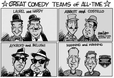 Editorial Cartoon: Comedy