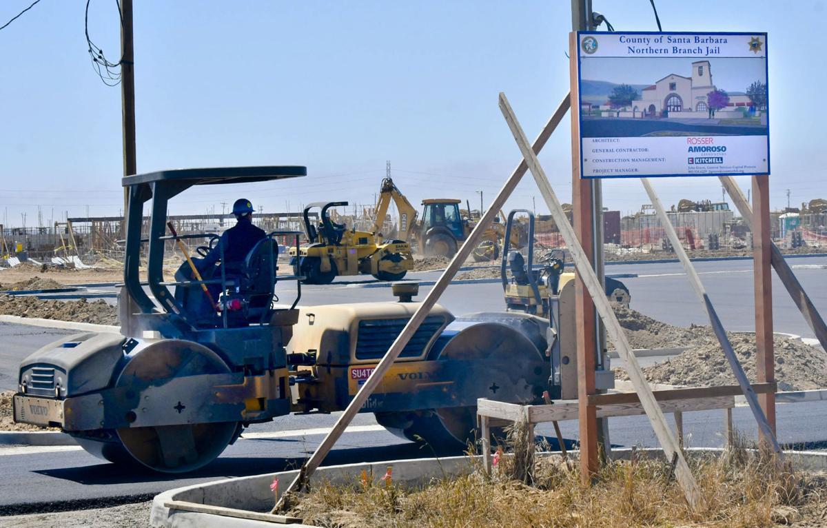 Construction of North County jail in Santa Maria moving