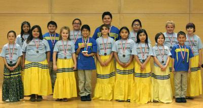 Grand View Cherokee Language students