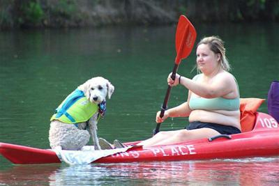 Kayaks offer a way to enjoy local waters