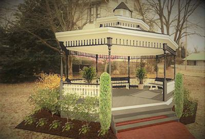 Thompson House gazebo rendering