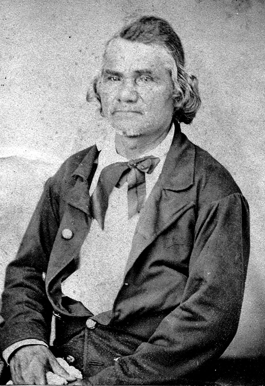 Not comfortable as politician, Watie was better suited for