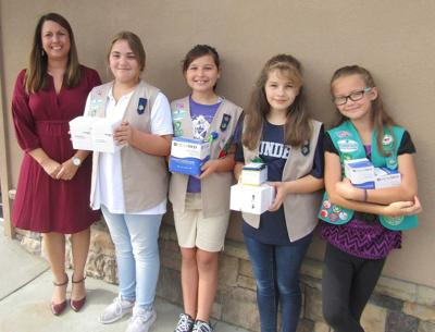 NeoHealth donates to Girl Scout Troop