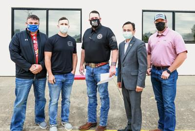 Cherokee Nation donates nearly $37K to Adair County law enforcement agencies