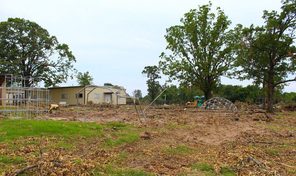 As tornado cleanup continues, Peggs works out snags