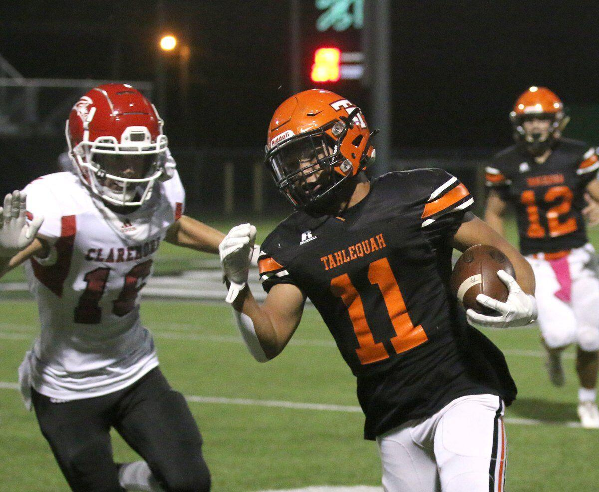 DOMINANCE: Tigers cruise to 37-7 win over Claremore