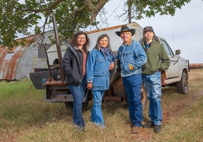 Barneses named District 6 Farm and Ranch Family