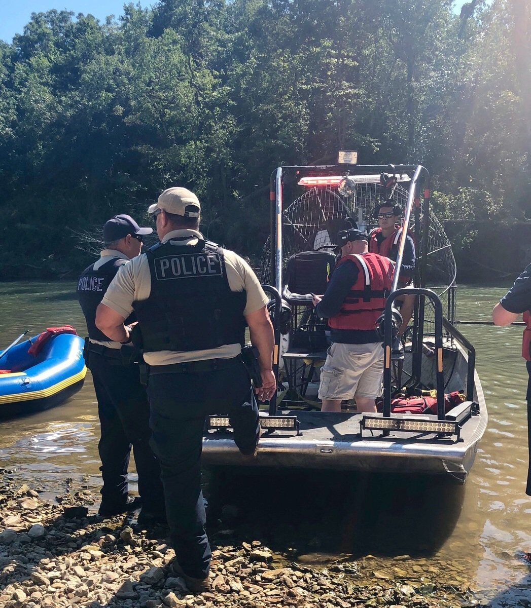 FLOATING THEIR BOAT: Illinois River VFD uses airboat to save lives, stop trouble