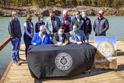 Hoskin signs into law 'Cherokee Nation Park, Wildlands, Fishing and Hunting Preserve Act of 2021'