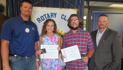 THS Rotary Students of the Month