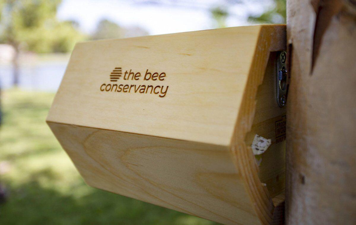 Tribe installs bee pollinator homes through conservancy