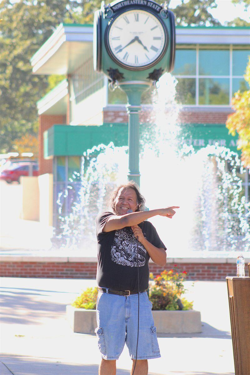 NATIVE PRIDE: Indigenous students, others let world know they're 'still here' during NSU's Indigenous Peoples' Day celebration