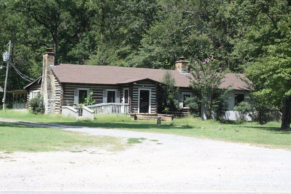 The Echota House Now Serves As Housing Authority Office Space For United Keetoowah Band Of Cherokee Indians In Oklahoma