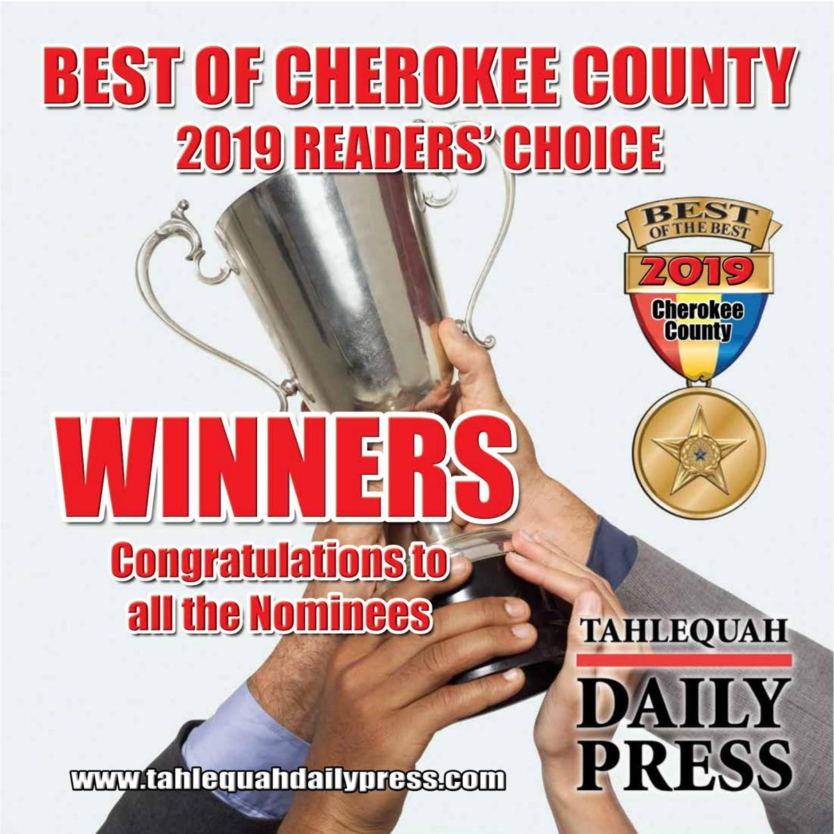 2019 Readers' Choice - Best of Cherokee County
