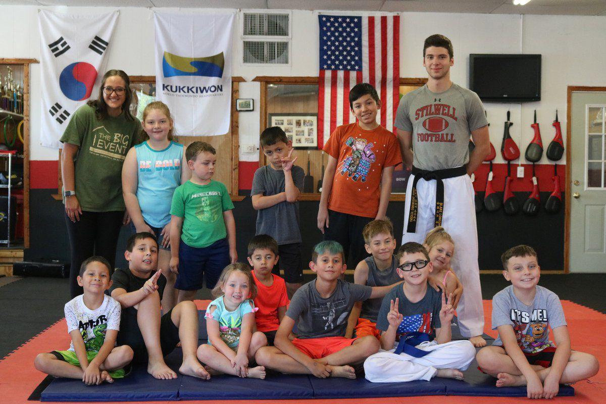 Taekwondo camp