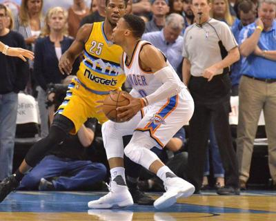 Presti offers Westbrook news, but not about contract