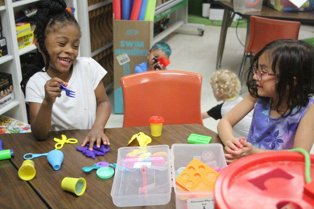 EXPLORING NATURE: NSU summer camps kick off, with youngest kids investigating flora and fauna