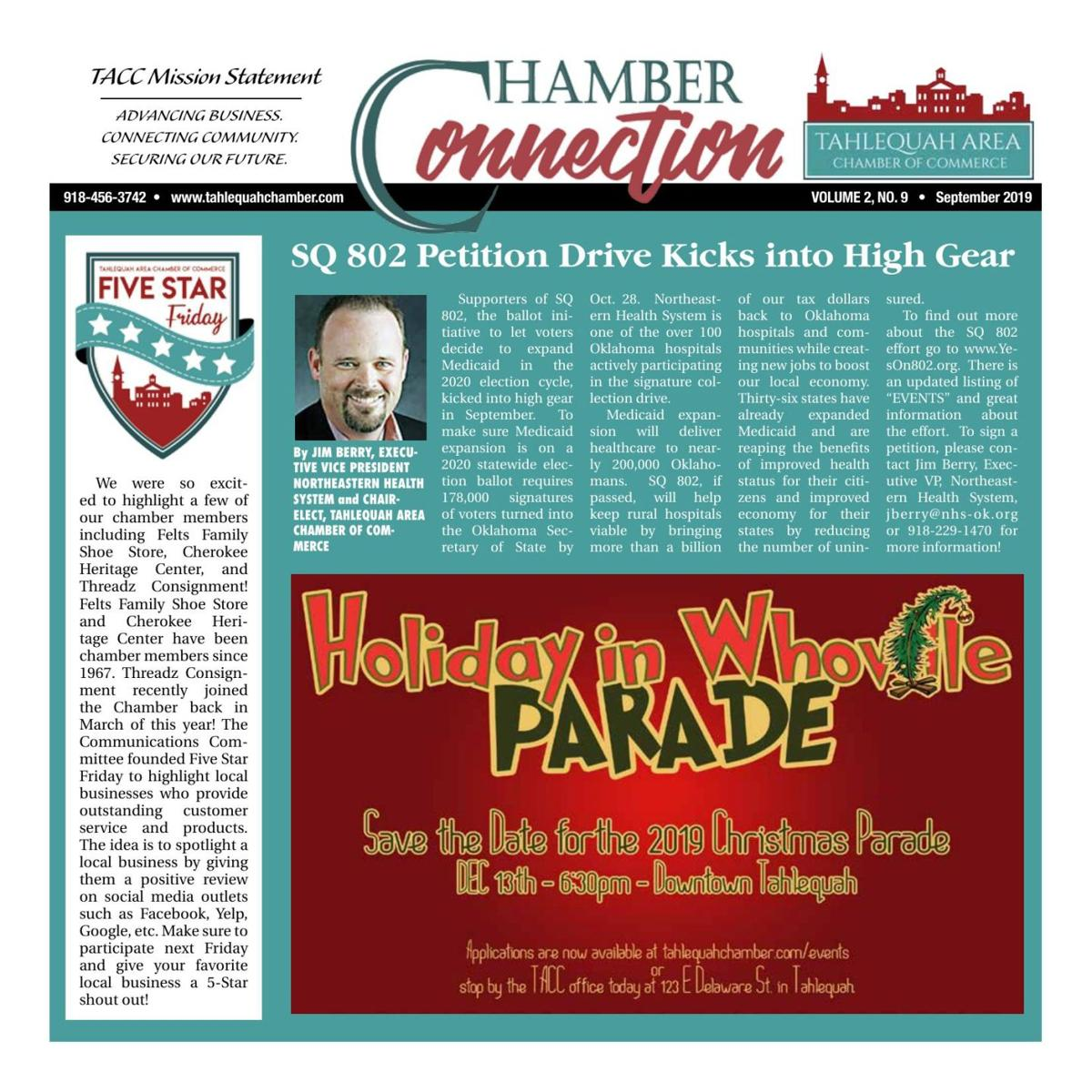 Chamber Connection - September 2019