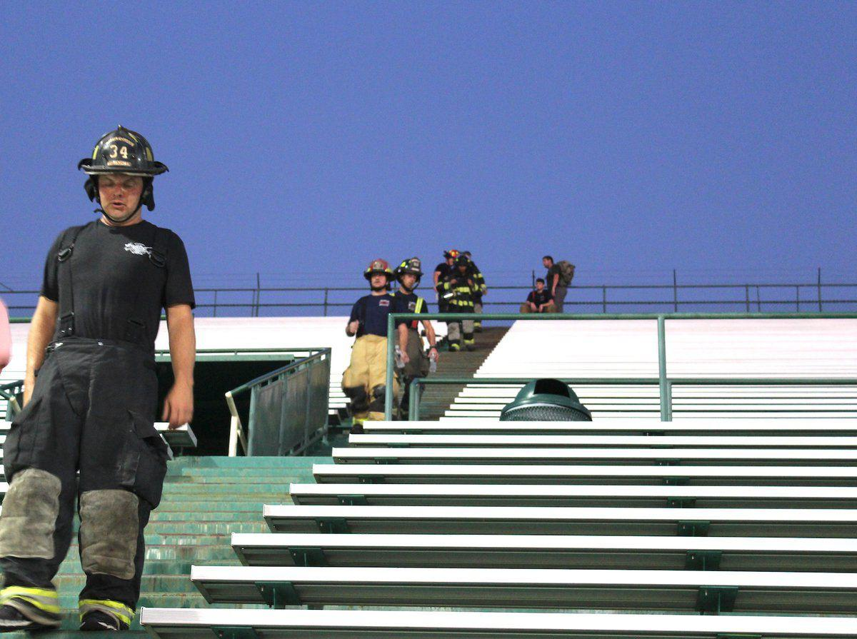Volunteers climb to honor those who died in 9/11