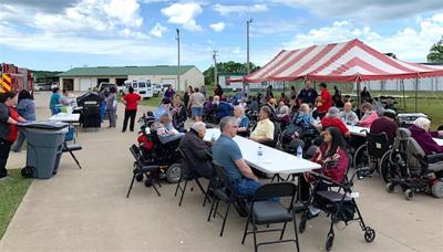 COMMUNITY SPIRIT: Elder Care adapts, looks forward to reopening center