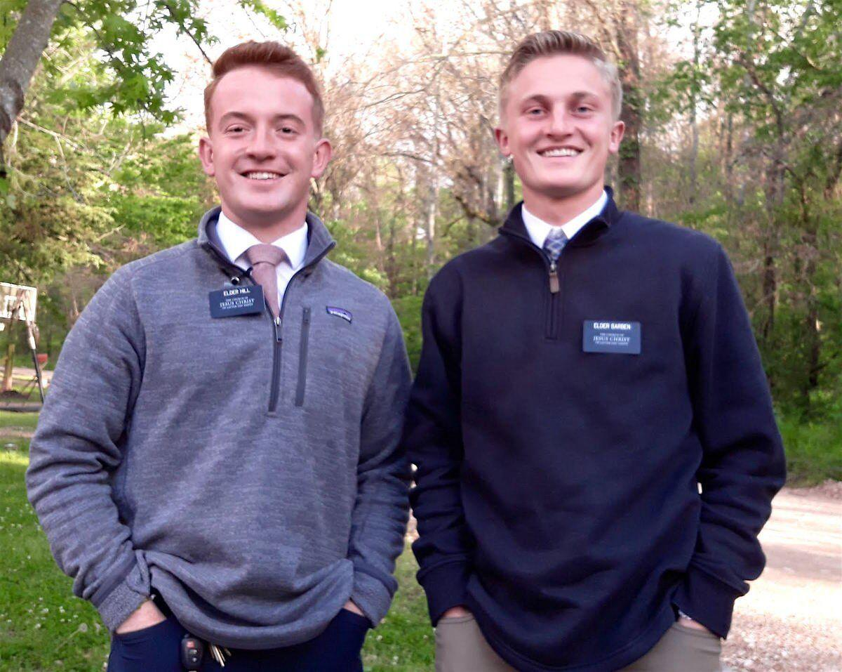 EVERYDAY HEROES: Mormon missionaries call Tahlequah a special place