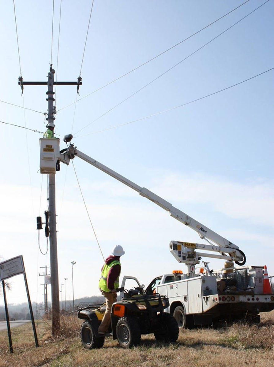 LREC continues fiber optic installation, with caution