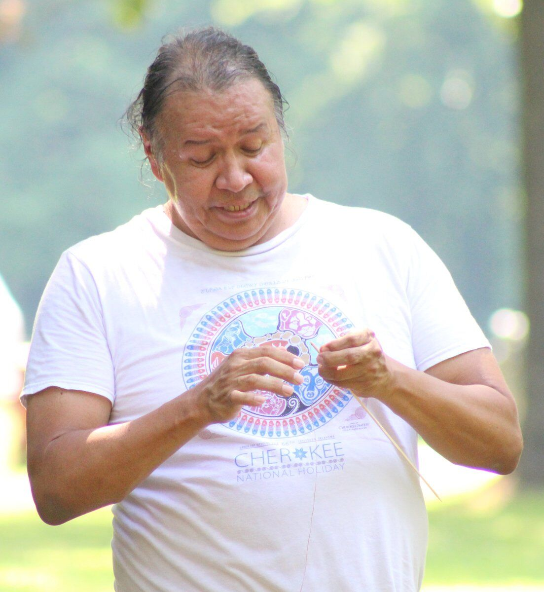 TRIBAL TRADITIONS: Three factions of Cherokees meeting for Tri-Council meeting
