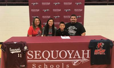 Lana Gass signs with Rogers State University