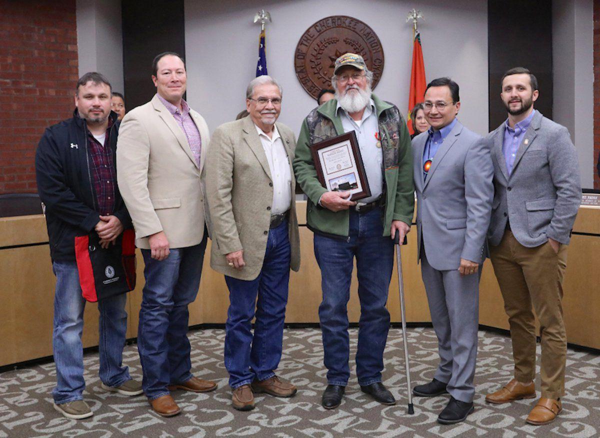 Cherokee Nation honors four veterans in November