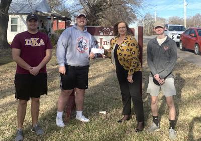 PIKEs donate to Help in Crisis