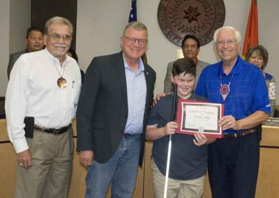 CN Tribal Council fetes area student for Braille Challenge
